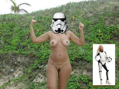 Exibicionismo da esposa pelada na praia deserta