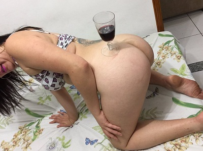 Esposa gostosa do Casal Infinito pelada