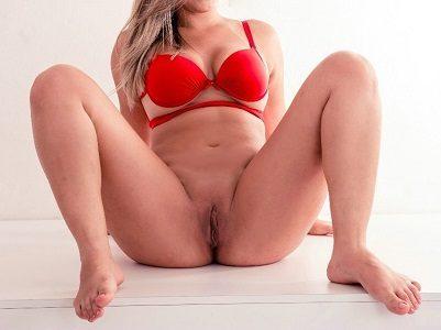 Ensaio sensual amador da loira gostosa