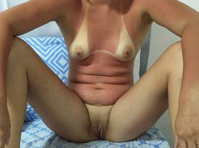 Fotos esposa pelada toda bronzeada