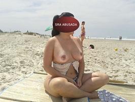 Fotos de exibicionismo na praia é isso aqui