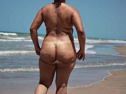 Fotos da esposa semi nua na praia