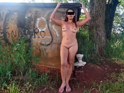 Fotos esposa completamente pelada na rua