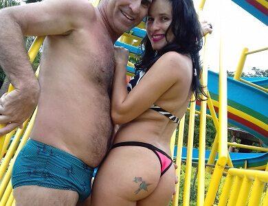 Aninha e seu marido Crispim exibidos