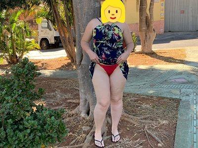 Fotos da esposa gordinha de lingerie